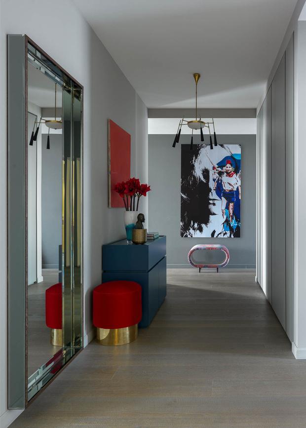 Проект Жени Ждановой: современная квартира в Москве (фото 17)