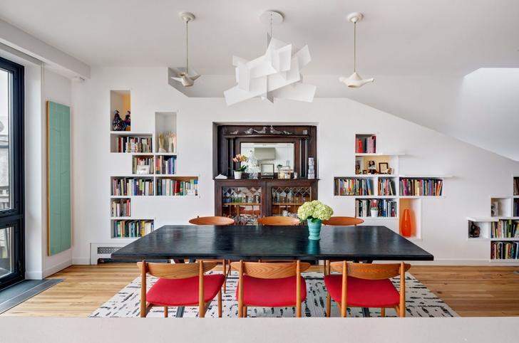 «Дом для любителей кошек и книг» в Бруклине (фото 8)
