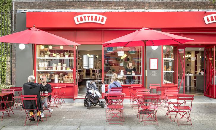 Итальянский ресторан Latteria в Лондоне (фото 5)
