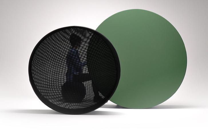 Объект Wheel для Offecct, 2014 год, предназначен для зонирования пространства комнаты.