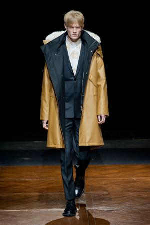 Показ Christian Dior коллекции сезона Осень-зима 2014-2015 года prêt-à-porter - www.elle.ru - Подиум - фото 574136