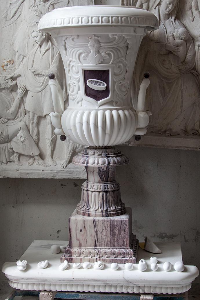 Фрагменты скульптур