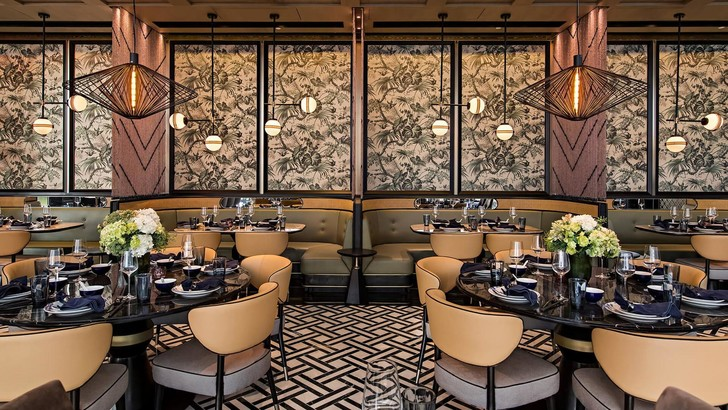 Ресторан в Гонконге в стиле киноленты Вонга Кар-Вая «Любовное настроение» (фото 0)