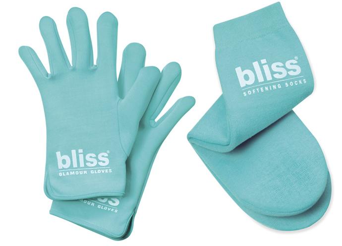 Перчатки Glamour Gloves и носки Softening Socks от Bliss