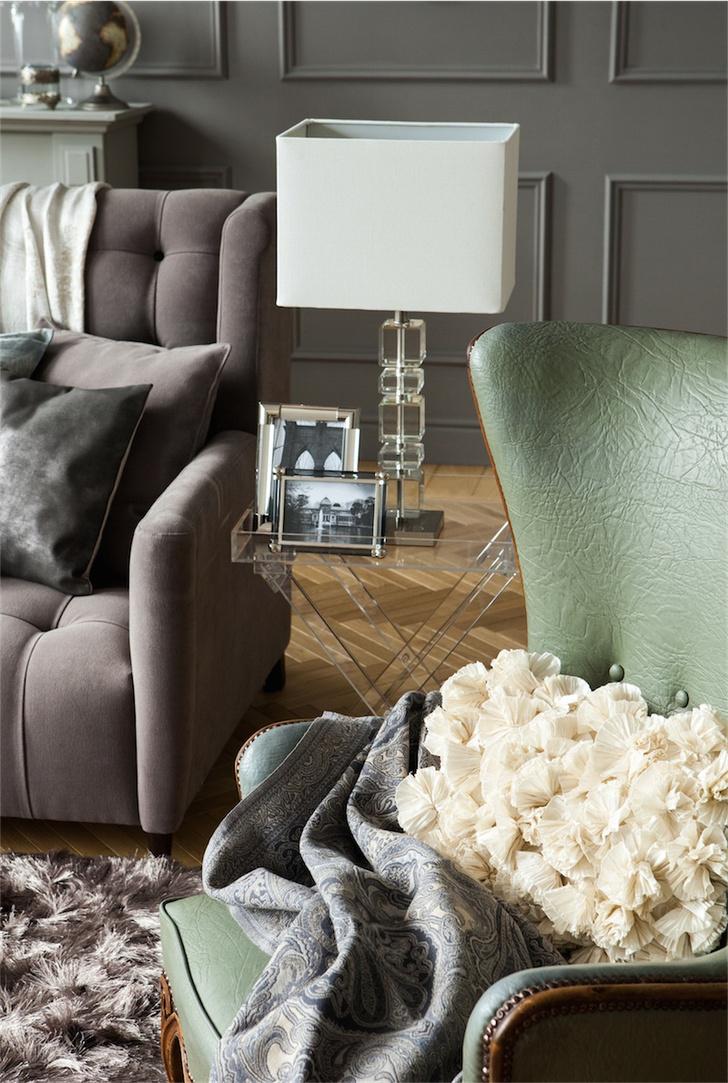 Интерьер, оформленный с использованием предметов из коллекции Zara Home.