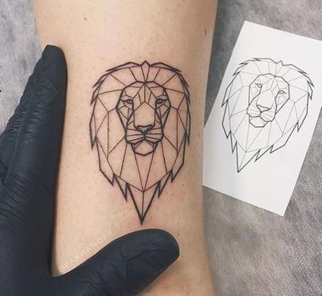 Лев татуировка: значение и фото 21
