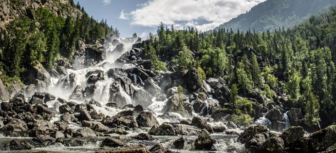 Водопад Учар, Алтайский край