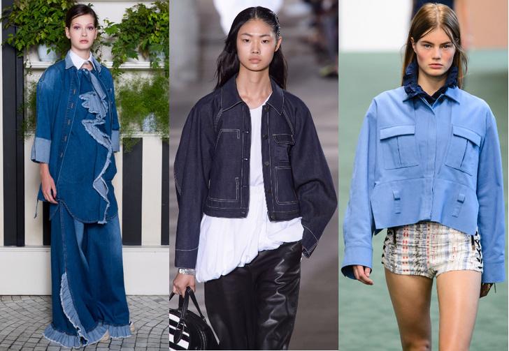 Модные тенденции в одежде 2018