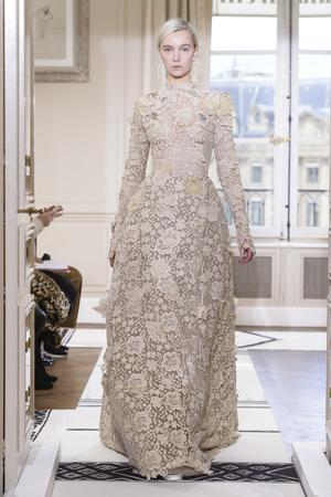 Показ Schiaparelli коллекции сезона Весна-лето 2018 года Haute couture - www.elle.ru - Подиум - фото 671361