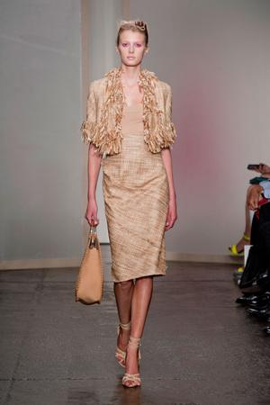 Показ Donna Karan New York коллекции сезона Весна-лето 2013 года prêt-à-porter - www.elle.ru - Подиум - фото 418923