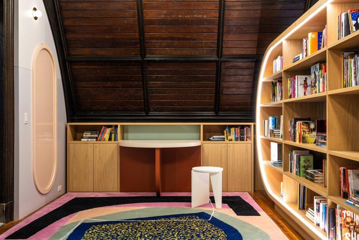 Яркая детская библиотека в Нью-Йорке (фото 3)
