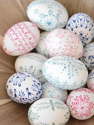 Вдохновение к Пасхе: 14 идей декора яиц (фото 11.2)