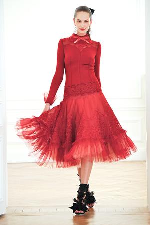 Показ Alexis Mabille коллекции сезона Осень-зима 2010-2011 года haute couture - www.elle.ru - Подиум - фото 167589