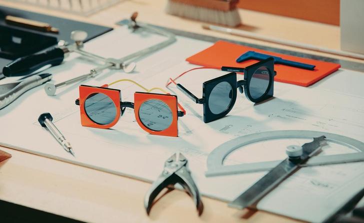 Геометрические очки по дизайну CoopDPS для Max Mara (фото 3)