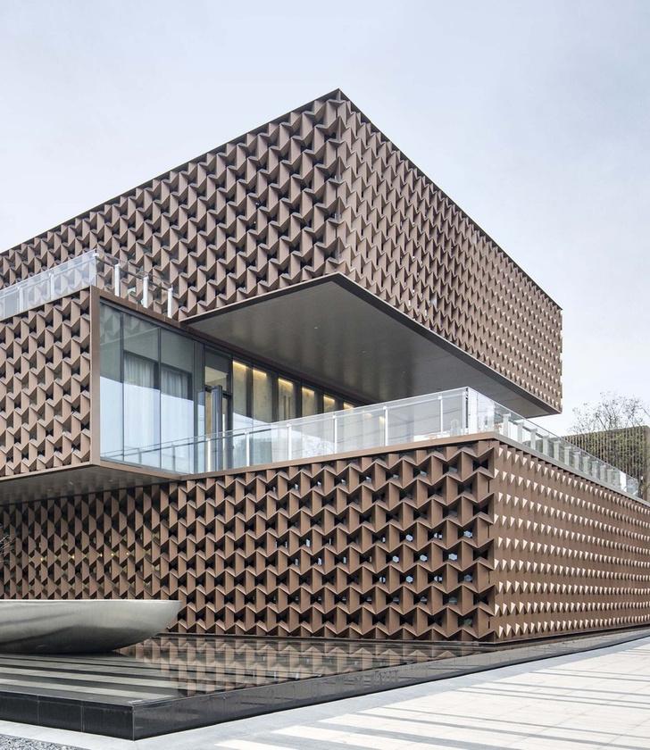 Брутальное здание офиса в Вэньчжоу (фото 3)
