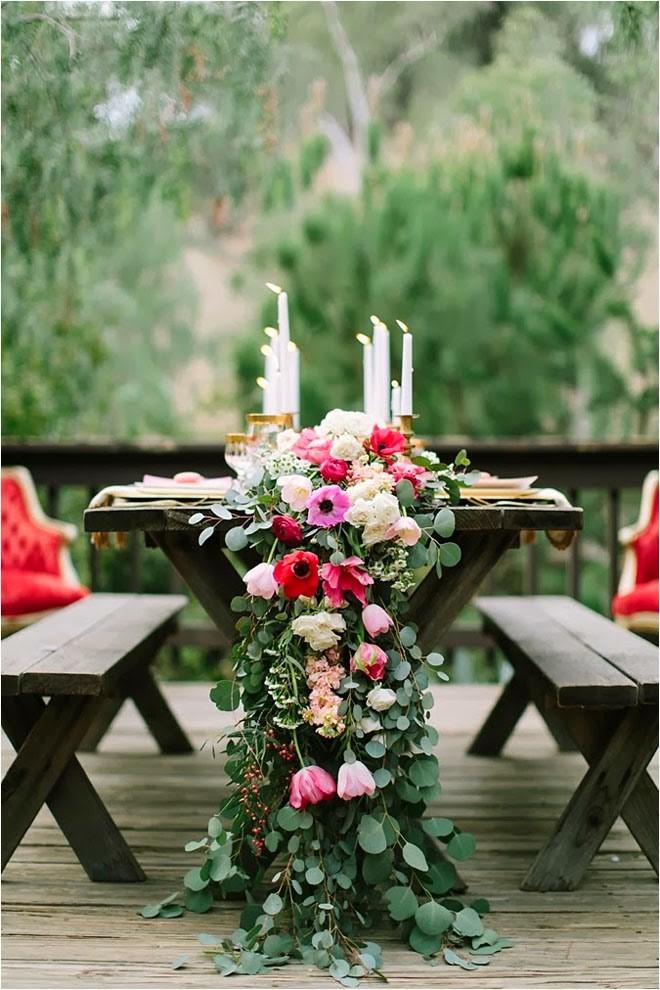 20 идей для сервировки и декора свадебного стола (галерея 1, фото 3)