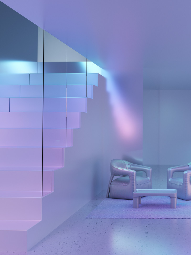 Голографическая мебель от студии Six N. Five (фото 2)