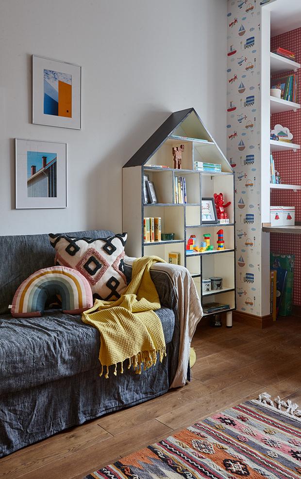 Квартира в скандинавском стиле 73 м² с элементами лофта (фото 11)