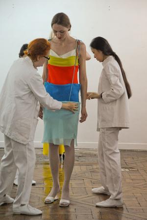 Показ Adeline Andre коллекции сезона Осень-зима 2010-2011 года Haute couture - www.elle.ru - Подиум - фото 167250