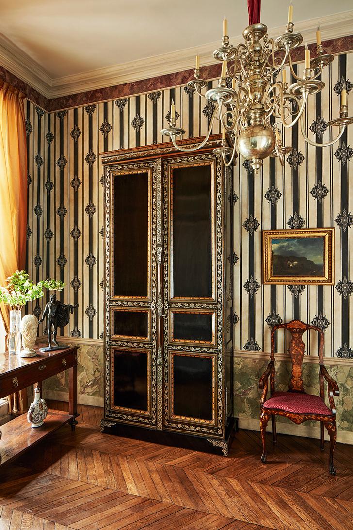 Квартира в парижском особняке XVIII века фото [4]
