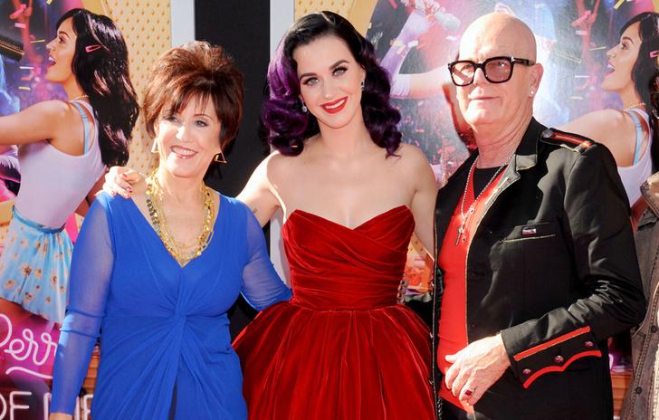 Кэти Перри с родителями
