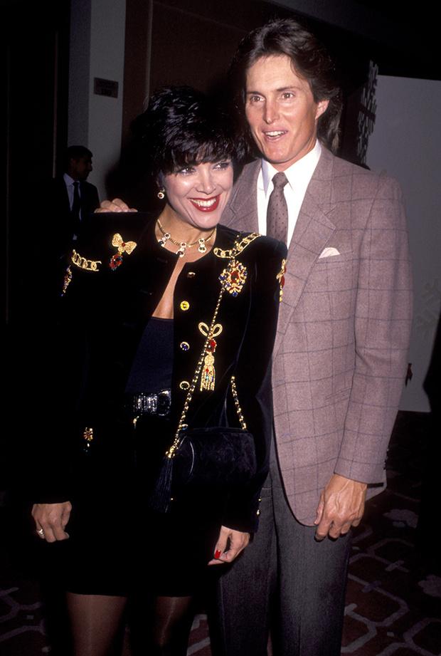 Крис и Брюсс Дженнер, 1990