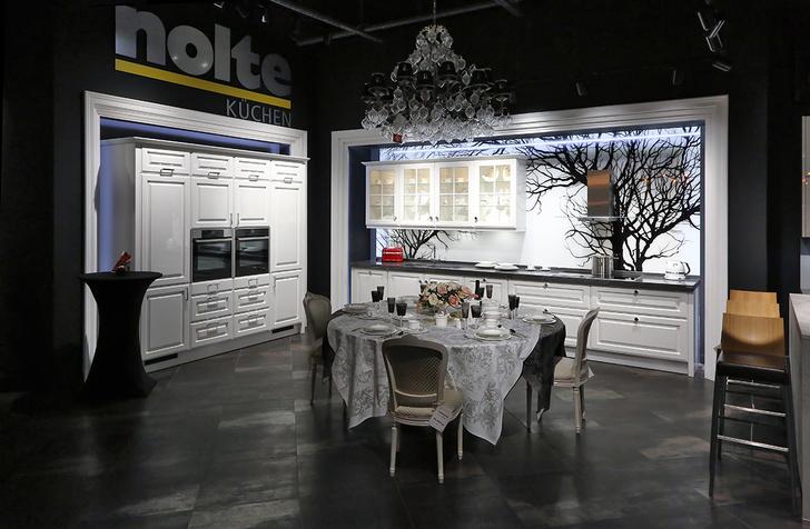 Новинки Nolte Küchen и KitchenAid в «Шато де Вэссель»
