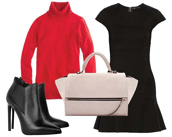 Маленькое черное платье луки