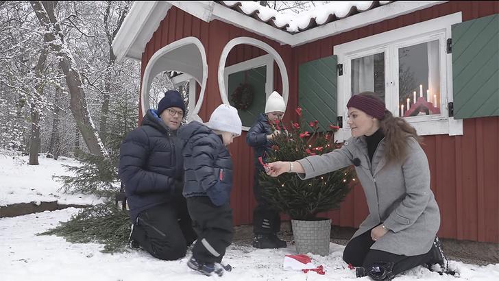 Британия vs. Швеция: рождественские открытки королевских семей (фото 8)