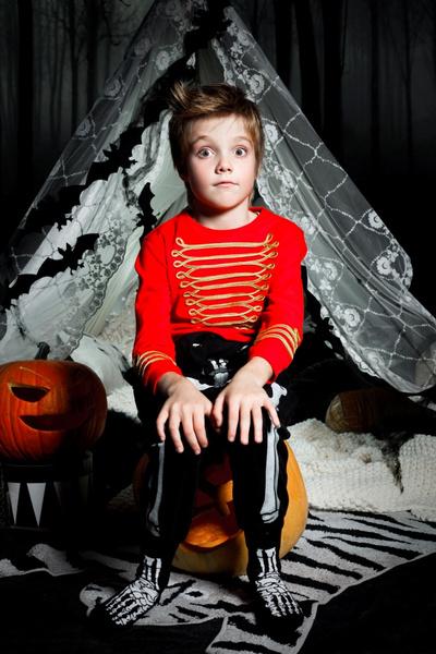 Лукбук детской коллекции H&M All for Children к Хэллоуину