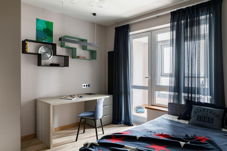 Минималистичная квартира в Петербурге для большой семьи (фото 20)