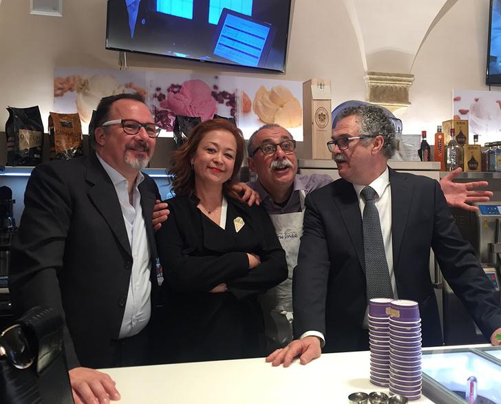 Итальянское мороженое джелато