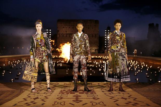 В Африку гулять: Dior Cruise 2020 (фото 2)