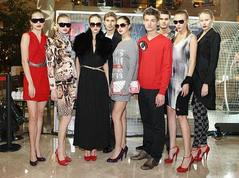 Модели c показов на Fashion Day