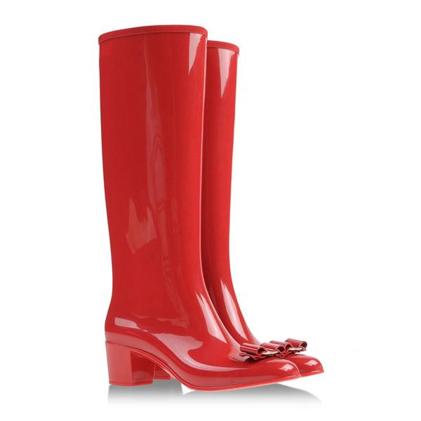 Шире шаг: модная резиновая обувь | галерея [1] фото [8]