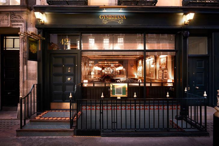 Лондонский бар Gymkhana в колониальном стиле (фото 11)
