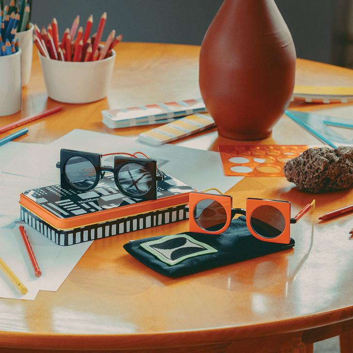 Геометрические очки по дизайну CoopDPS для Max Mara (фото 7)