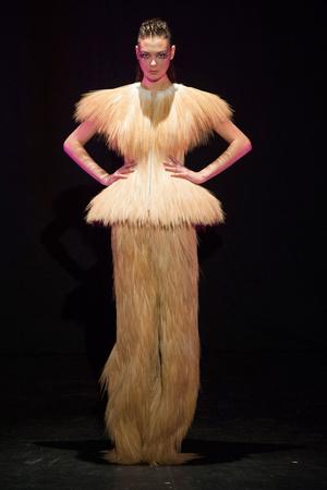 Показ Serkan Cura коллекции сезона Весна-лето 2014 года haute couture - www.elle.ru - Подиум - фото 575324