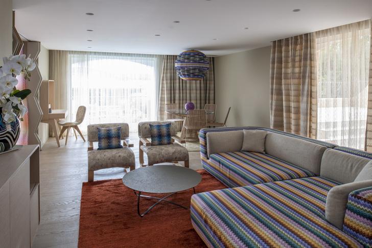 Дизайнерский сьют Missoni Home в Сен-Тропе (фото 6)