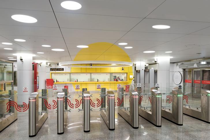 Пусть всегда будет солнце! Станция метро «Солнцево» по проекту Nefa Architects (фото 1)