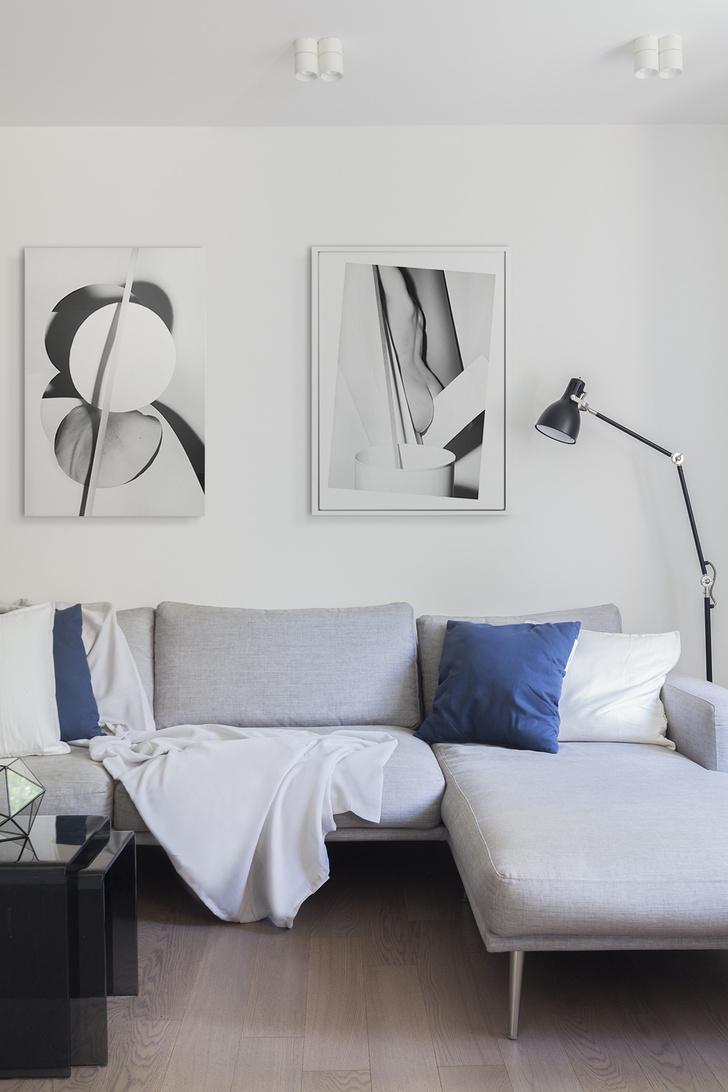 Эмоциональный минимализм: квартира 59 м² в Москве (фото 5)
