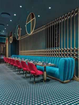 Современный ар-деко: ресторан в Риме (фото 3.2)