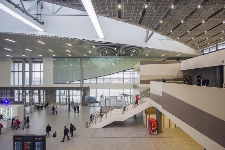 Новый символ Прикамья: терминал аэропорта Перми (фото 13)