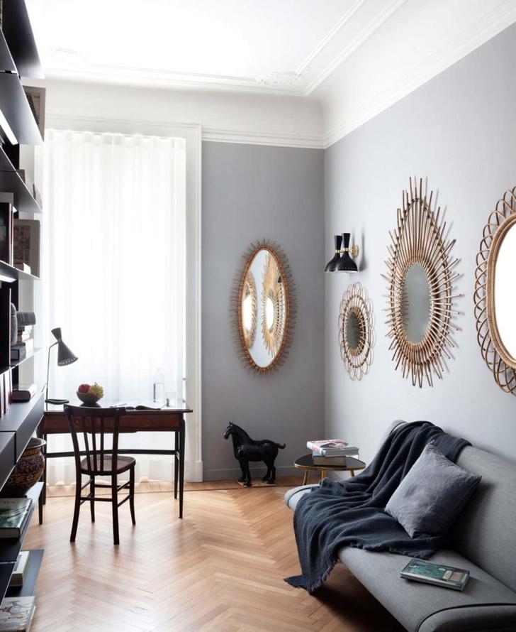 Эклектичная квартира 150 м² в Милане (фото 4)