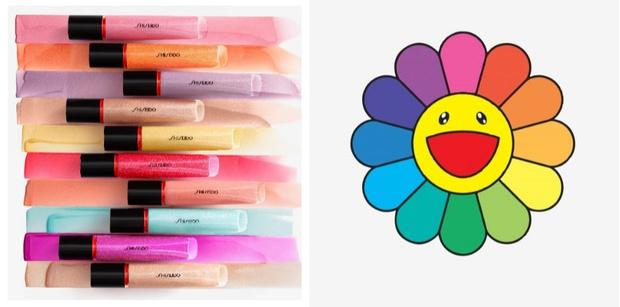 В палитре Takashi Murakami: блески для губ Shiseido (фото 1)