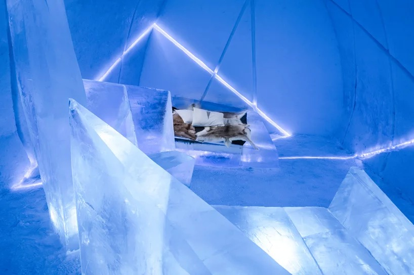 В Швеции открылся ледяной отель (галерея 6, фото 4)