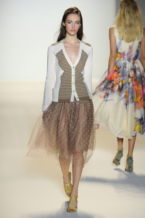Показы мод Lela Rose Весна-лето 2012 | Подиум на ELLE - Подиум - фото 2036