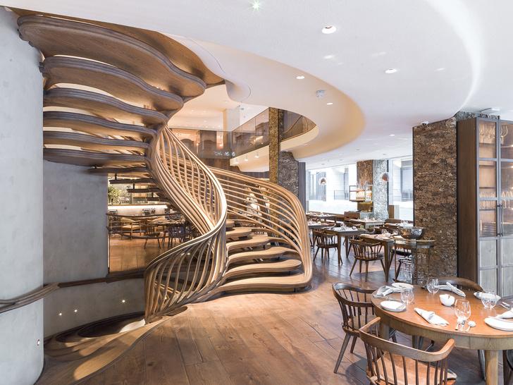 Интерьеры ресторана Hide Евгения Чичваркина (фото 0)