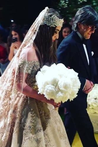Свадьба Лолиты Османовой и Гаспара Авдоляна