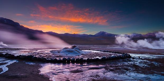 Долина гейзеров Эль-Татио, Чили